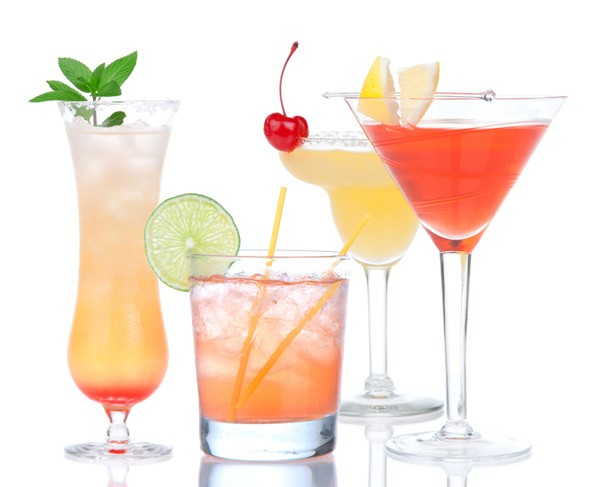 Summer Mocktails (nonalcoholic drinks)